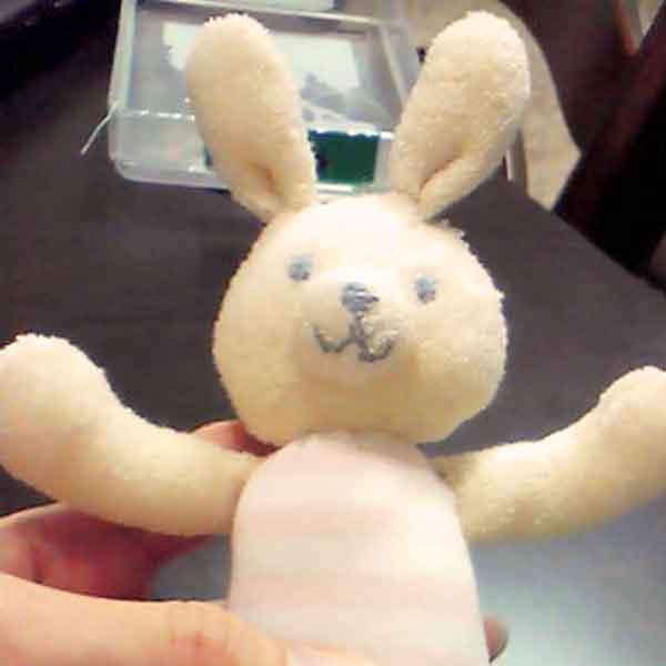 ウサギのガラガラ