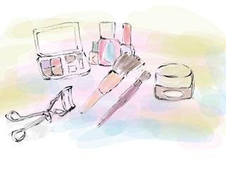 様々な化粧品