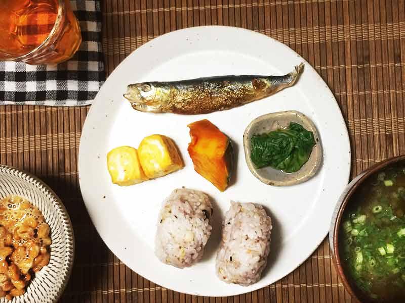 和食の朝ごはん