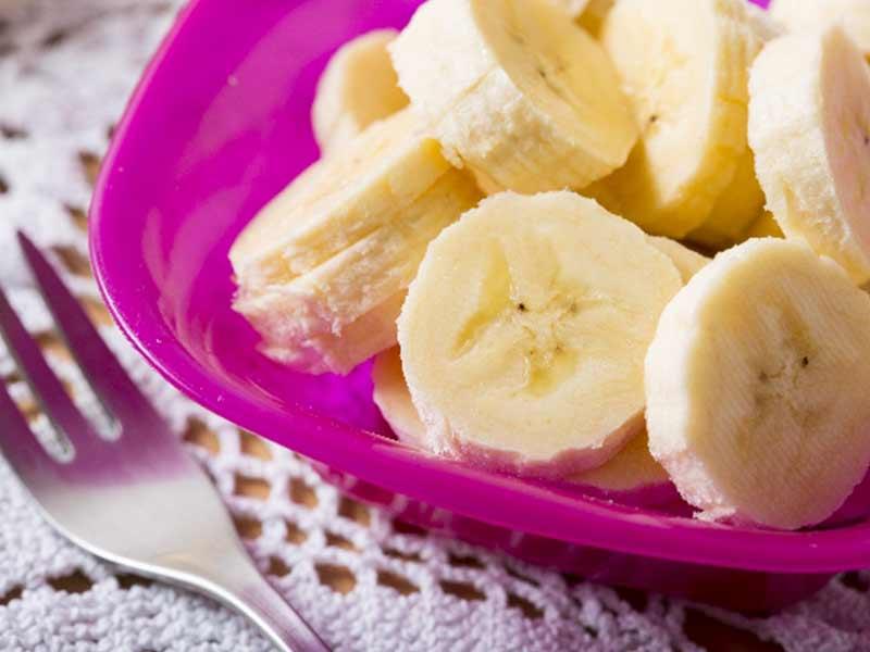 バナナのプレート