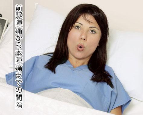 前駆陣痛から本陣痛までの間隔~出産の予兆となる症状とは