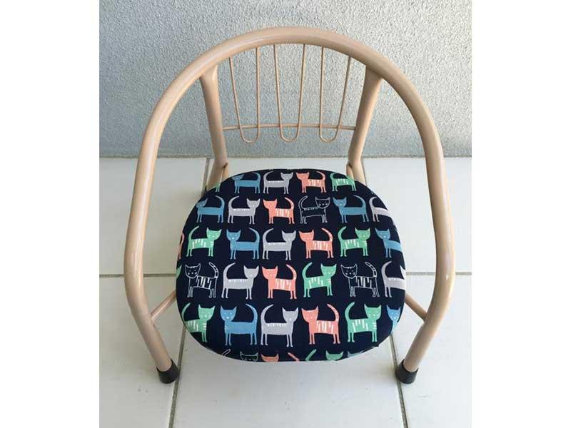 「キャット」豆椅子