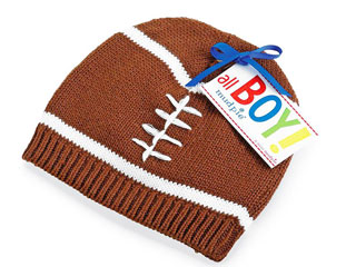ニット帽 フットボール