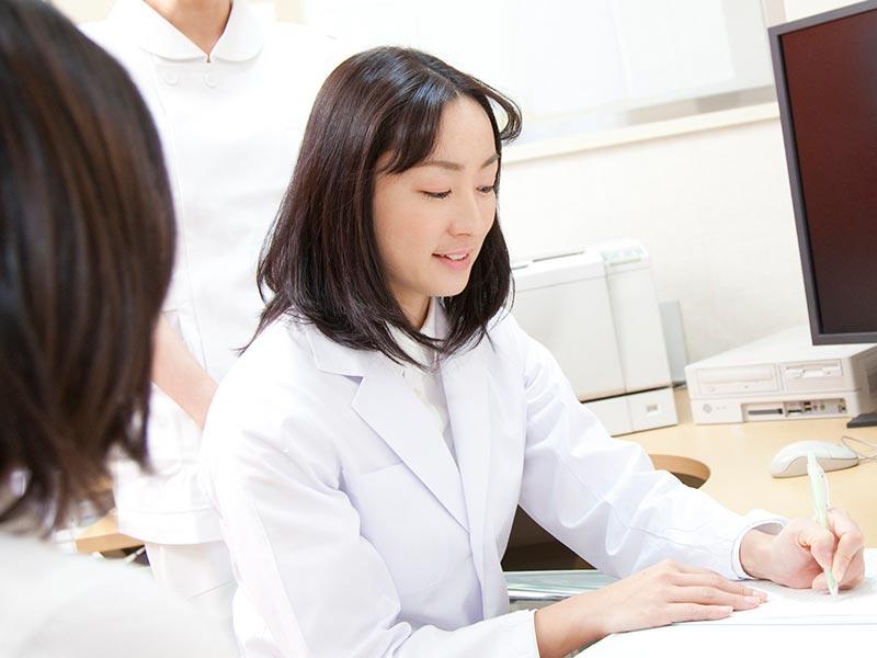 産科医との相談