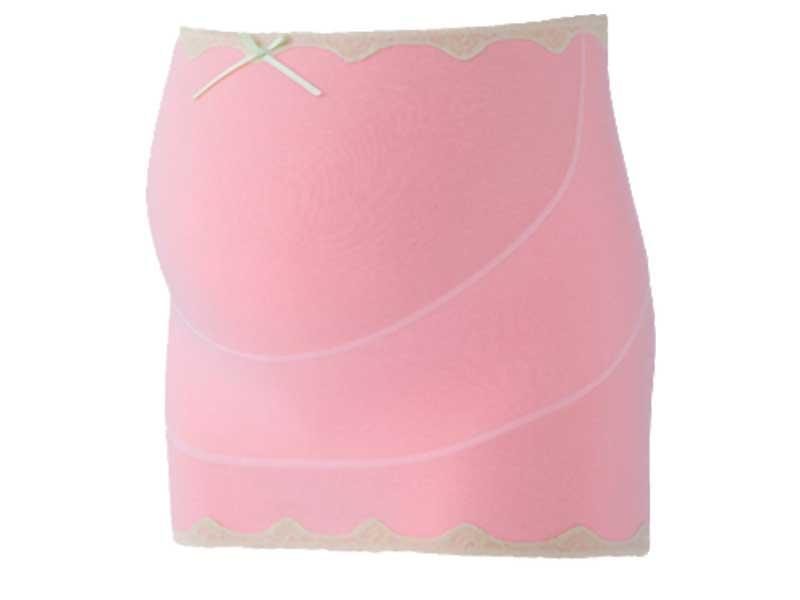 ピンクやわらかガーゼ妊婦帯