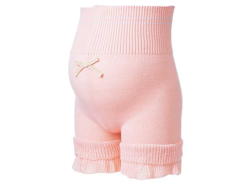 ピーチ腹巻付き毛糸パンツ