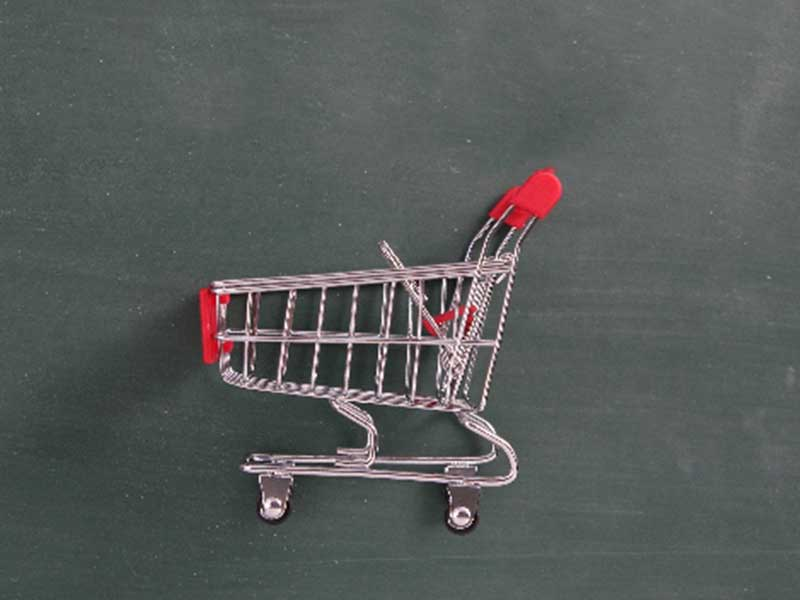 買い物のカート