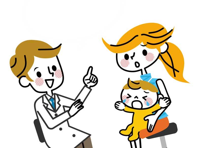 小児科の医師との相談