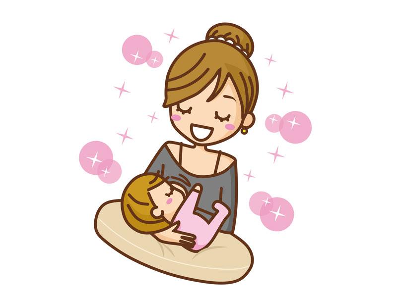 ママと赤ちゃんの授乳