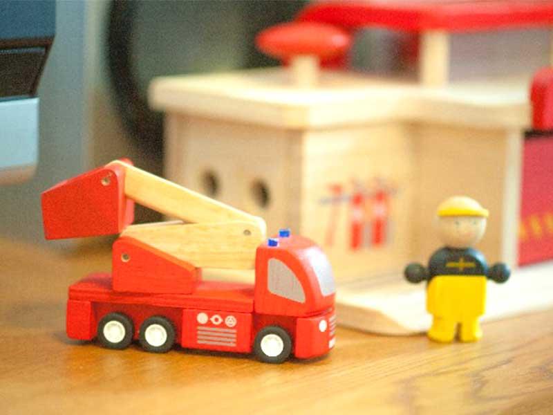 消防車のミニカー